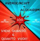 Promozione HYDROCIRCUIT + ACQUAGYM VIENI QUANDO E QUANTO VUOI