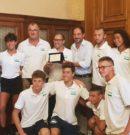 Campionati estivi di nuoto: riconoscimento del Comune di Bari alla Payton